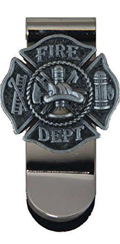 Maltese Money Clip (Fire Fighter Maltese Cross Money Clip)