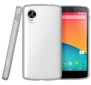 SUPCASE Google Nexus 5 Unicorn Beetle Premium Hybrid Protective Case (White/Gray) - Not Fit LG Google Nexus 4