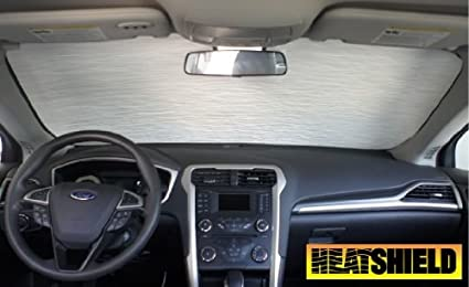 Sunshade for Ford Fusion Fusion Hybrid 2013 2014 2015 2016 2017 2018  Without Rearview Sensor Heatshield a348cc989182