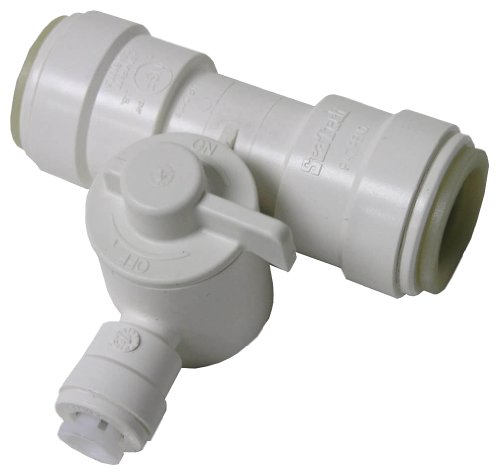 - WATTS P-667 Ice Maker Tee Valve, 1/2-Inch Cts x 1/4-Inch Od