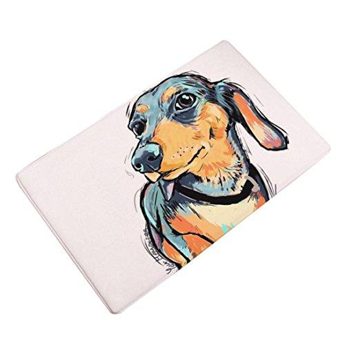 Xiting Animal Home Non Slip Door Floor Mats Hall Area Rug Kitchen Bathroom Carpet Decor - Do Need Size I Frame What