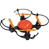 Owill FEILUN FX133 Mini 2.4GHZ 4CH RC Quadcopter Helicopter 360 Degree Rotation Drone/Hand Hold Aircraft (Orange)