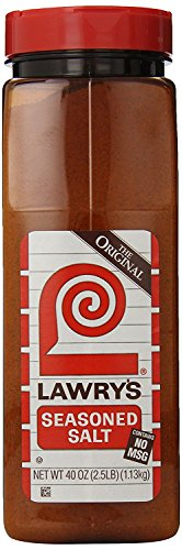 Lawry's Seasoned Salt, 40 Ounce jars (PACK OF 2) by Lawry's