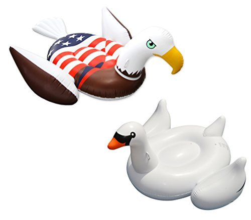 giant-patriotic-american-bald-eagle-white-swan-inflatable-swimming-pool-floats-by-swimline