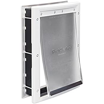 Charmant PetSafe Plastic Pet Door Medium, With Soft Tinted Flap, Paintable White  Frame, For Dogs Up To 40 Lb.