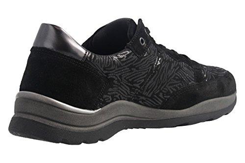 Romika Damen Halbschuhe - Icaria 04 - Schwarz Schuhe in Übergrößen