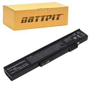 Battpit Bateria de repuesto para portátiles Gateway MX6455H (4400 mah)