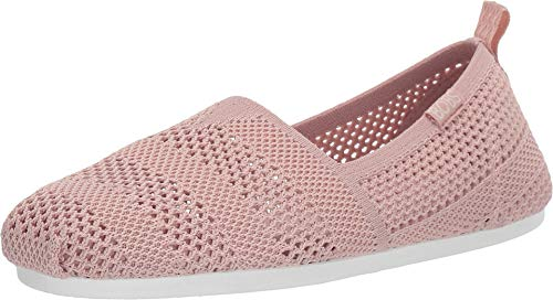 Skechers BOBS Plush Twiggy Womens Slip On Flats Blush 7