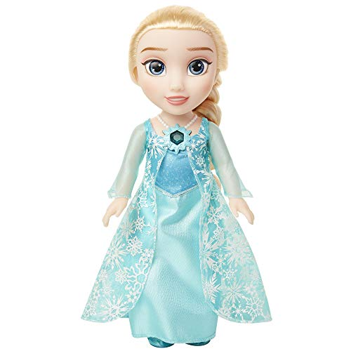 Disney Frozen Snow Glow Elsa Doll - Features Iconic ICY Blue Snowflake Dress - Sings Let It Go - Ages 3+, 14 in
