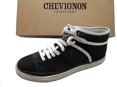 5e1be81cf84a0b Chevignon Chaussures baskets montantes Homme tissu et cuir - Taille ...