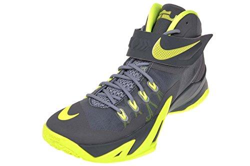 Nike Heren Zoom Soldaat Viii Prm Basketbalschoen Magneet Grijs / Volt-dark Magneet Grijs