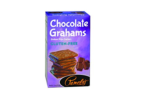 Pamela's Products Gluten Free Graham Crackers, Chocolate, 7.5 Ounce
