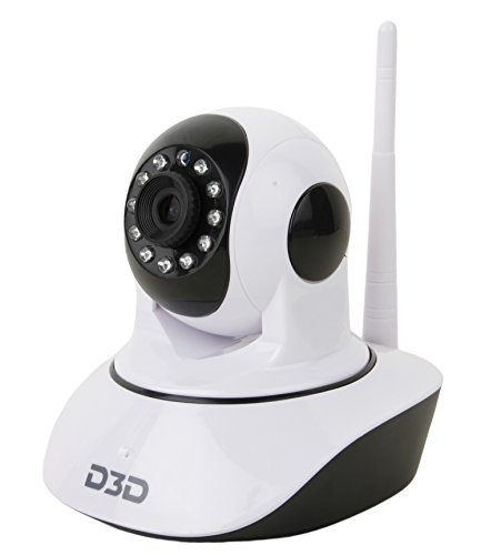 Image result for D3D Wireless HD IP Wi-Fi CCTV Indoor Security Camera: