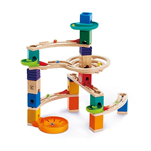 Hape Quadrilla Cliffhanger Wooden Marble Run, 93 Pieces for sale  Delivered anywhere in USA