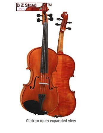 D Z Strad Viola Model 101 with Case and Bow (15.5