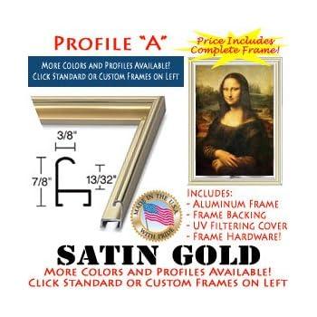 Amazon.com: 28 x 42 Custom Poster Frame - 28x42 Metal Picture Frames ...