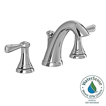 American Standard Bathroom Faucets >> American Standard Marquette 8 In Widespread 2 Handle High Arc Bathroom Faucet In Polished Chrome