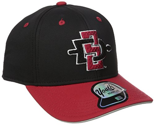 San Diego State Aztecs Baseball - NCAA by Outerstuff NCAA San Diego State Aztecs Youth Boys Performance Structured Snapback Hat, Red, Youth One Size