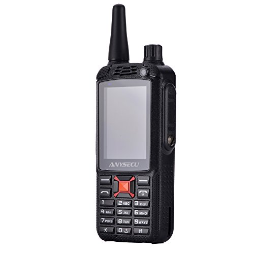 Anysecu F22/G22 Plus Dual SIM 3G WCDMA Zello PTT Walkie Talkie Mobile Phone 3500mAh 2.4Inch Touch Screen 512MB RAM 4GB ROM Android (512 Mb Main Memory)