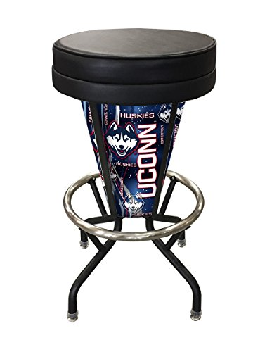 Avalanche Colorado Table Pub - Holland Bar Stool Co. L500030ColAvaBlkVinyl Indoor/Outdoor Lighted LED Colorado Avalanche Swivel Bar Stool