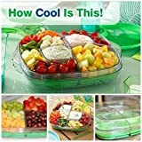 pampered chef egg - The Pampered Chef Square Cool & Server Tray