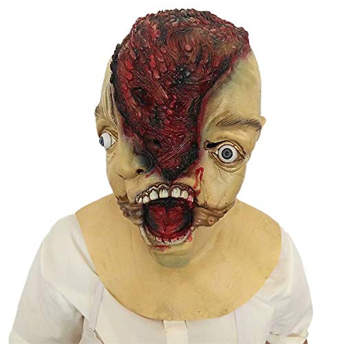 Adult Halloween Horror Latex Full Head Mask Cosplay Costumes -