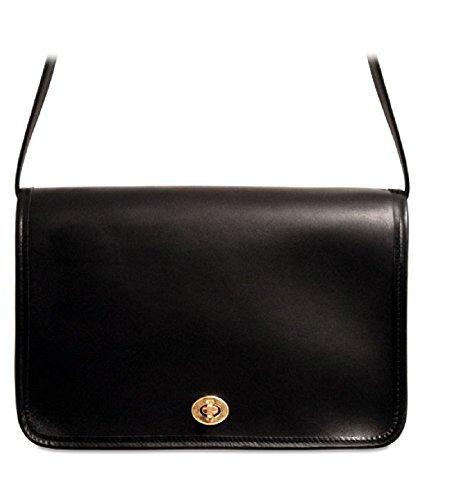 - Jack Georges University Collection Classic Crossbody Handbag Black