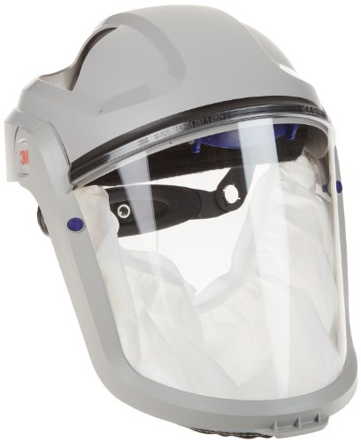 3M M-100 Series Versaflo Respiratory Faceshield Assembly M-105/37314(AAD), with Standard Visor and Faceseal by 3M Personal Protective Equipment (Image #1)