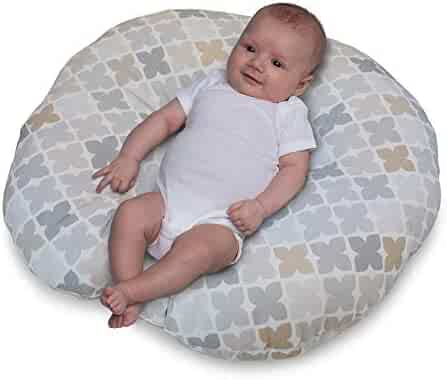 Boppy Newborn Lounger, Gray Taupe Four Square