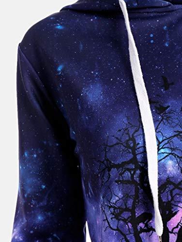 Amazon.com: GOVOW Halloween Costumes for Women Men Baseball Coats Sweats Plus Size Sweatshirt: Clothing
