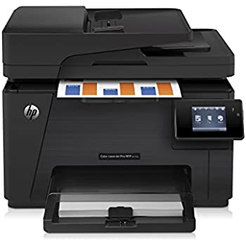 hp laserjet pro m277dw wireless all in one color printer electronics. Black Bedroom Furniture Sets. Home Design Ideas