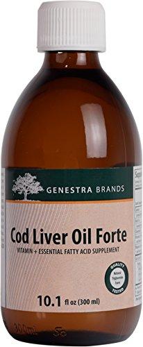 UPC 883196107407, Genestra Brands - Cod Liver Oil Forte - Vitamin + Essential Fatty Acid Supplement - 10.1 fl oz (300 ml)