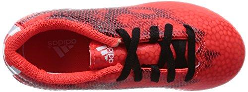 adidas F5 Fxg J, Botas de Fútbol Unisex Niños Rojo (solar red/ftwr white/core black)