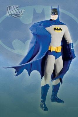 Deluxe Collectors Batman Costumes (Batman (Classic) 13-Inch Deluxe Collector Figure)