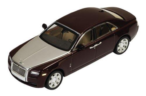 ixo 1/43 Rolls-Royce Ghost 2009 Bordeaux / Silver