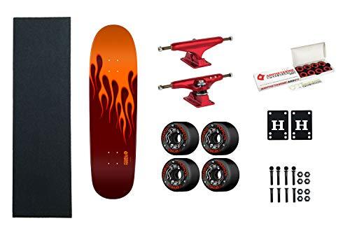 Amazon.com: Powell-Peralta – Pizarra de skate con llamas ...