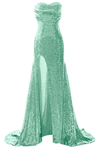 with Gorgeous Minze Sequin Formal Long MACloth Slit Gown Dress Mermaid Prom Evening zAqxRwd