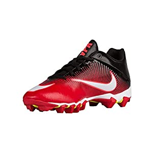 Mens Nike Vapor Shark 2 Football Cleat University Red/Black/Total Crimson/White Size 9.5 D(M) US