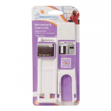 Dreambaby Microwave & Oven Lock - White - 2 Count by Dreambaby