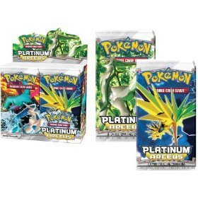 3 (Three) Packs of Pokemon PL Card Game Platinum Arceus (3 Packs - 10 Cards/Pack)