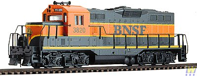 (Walthers Trainline EMD HO Scale GP9M Ready-to-Run Burlington Northern Sante Fe #3820 )
