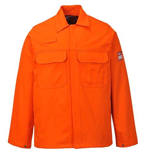 Portwest BIZ2 - chaqueta BizWeld, color Armada, talla 4XL naranja