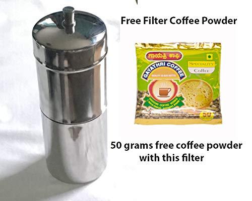 indien authentique filtre /à caf/é//caf/é en acier Dripper
