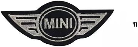 Red Mini Cooper parche termoadhesivo bordado cm 9,8 x 4 Replica ...