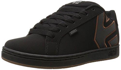 Etnies Men's Fader Skateboarding Shoe, Black/Silver/Gum, 9.5 M US (Ryan Sheckler Shoes compare prices)