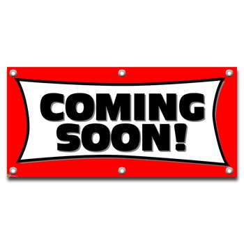 Coming Soon - Restaurant Store Business Sign Banner