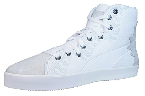 Puma 4m Mix Dames Lederen Sneakers / Schoenen - Wit