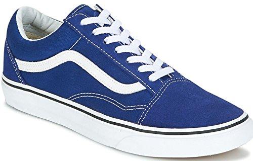 Vans Old Skool Blue White Unisex Suede