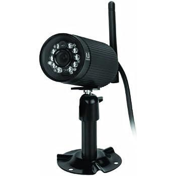 Uniden AppCam23 IP Wireless Indoor/Outdoor Camera, Black