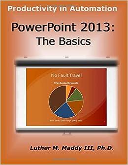 The Basics PowerPoint 2013